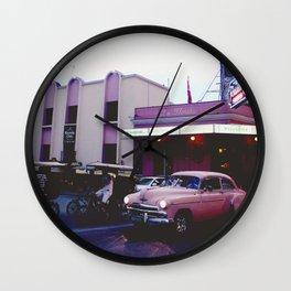 AROUND THE WORLD // LA HABANA I Wall Clock