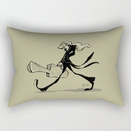 The gifted introvert Rectangular Pillow