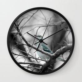 Bird Pose Wall Clock