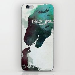 Inspired movie poster. The Lost World: Jurassic Park (1997) iPhone Skin