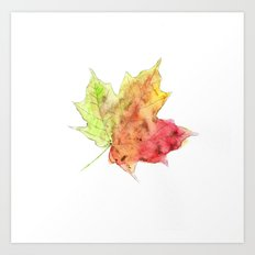 Fall Leaf #2 Art Print