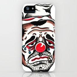 Hobo Clown iPhone Case