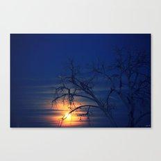 Penumbral Lunar Rising Canvas Print