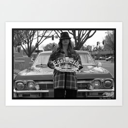 East Side Chola Art Print