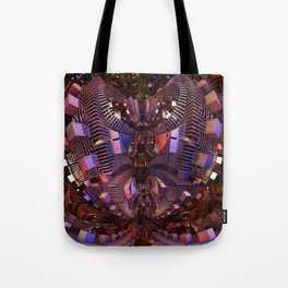 The Fractal Heart Tote Bag