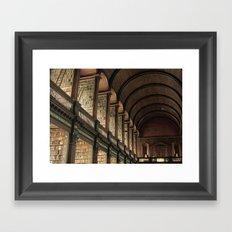Long Room - Trinity College Dublin Framed Art Print