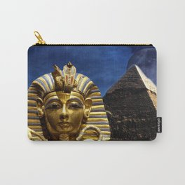 King Tut and Pyramid Carry-All Pouch
