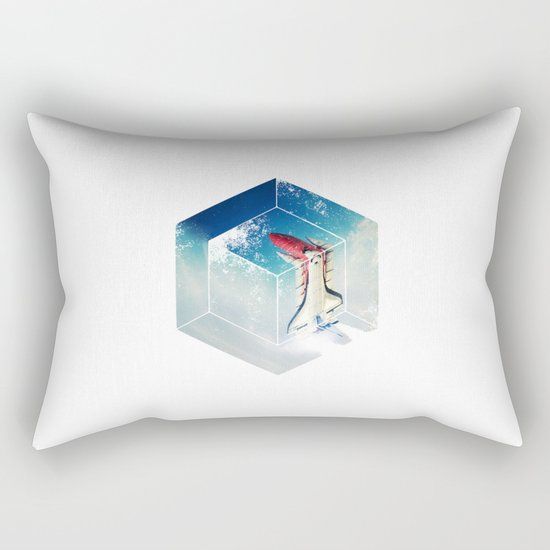 Into the Fourth Dimension Rectangular Pillow