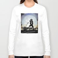 mcfly Long Sleeve T-shirts featuring McFly Kid by Andy Fairhurst Art