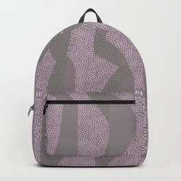 Shape Dance in Pink and Green Backpack