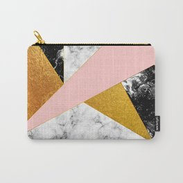 Golden foil and marble Carry-All Pouch