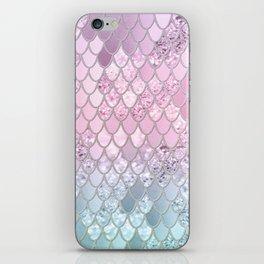 Mermaid Glitter Scales #2 #shiny #decor #art #society6 iPhone Skin