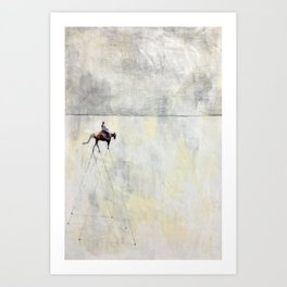 Trot Art Print