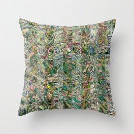 Dream Jungle (Ghana) Throw Pillow