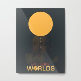 Galileo's Worlds Metal Print