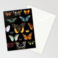 Entomology (Black) Stationery Cards