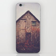 She Created Stories About Abandoned Houses iPhone & iPod Skin