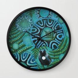 Tui & Pongas Wall Clock