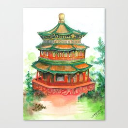 Summer Palace Canvas Print