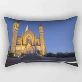 Sacred Heart Cathedral Bendigo Rectangular Pillow