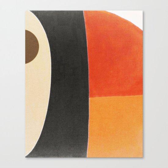 Toucan Macro Canvas Print