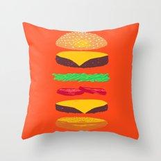 BURG Throw Pillow