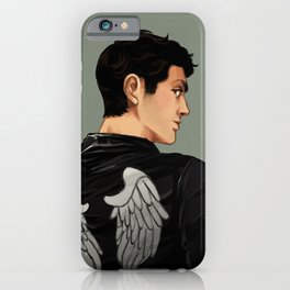 Angels are real iPhone Case
