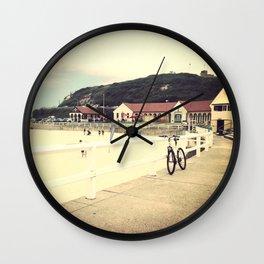 Nobby's Beach Wall Clock