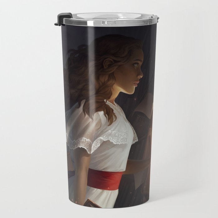The Reader Travel Mug