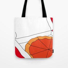 Hot Pizza Box Tote Bag
