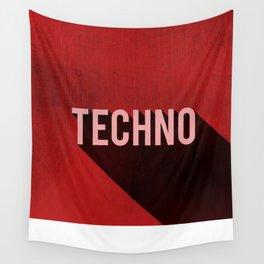 Techno Wall Tapestry