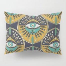 Tribal Evil Eye Pattern Pillow Sham