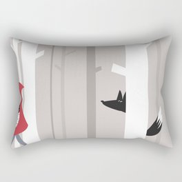 Red riding hood Rectangular Pillow