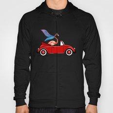 Flamingo Convertible Beetle Car Hoody