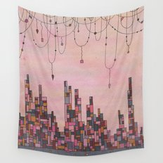 Traveling Skyline Wall Tapestry