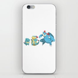 Watery Family #2 iPhone Skin