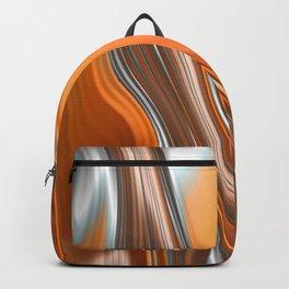 Monochrom Golden Age Splash Abstract Backpack