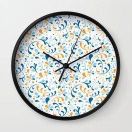 Paisley Swirly Wall Clock