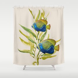 Fishes 2 Shower Curtain