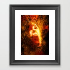 Too Bad About The Fire Framed Art Print