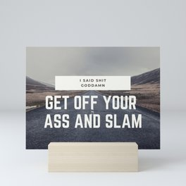 Slam! Mini Art Print