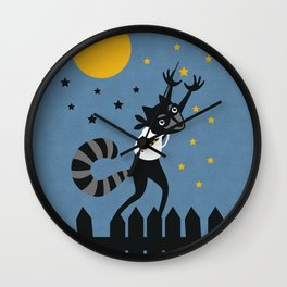 Star Thief Wall Clock
