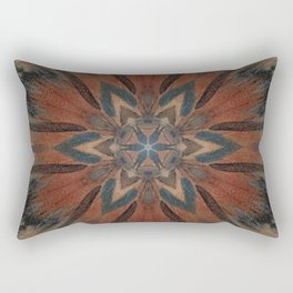 Bushfire Gum Medallion 2 Rectangular Pillow