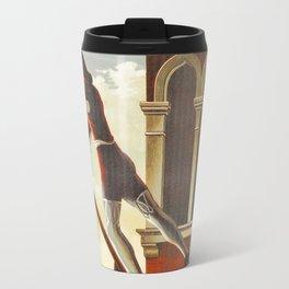Venice history, gondola Travel Mug
