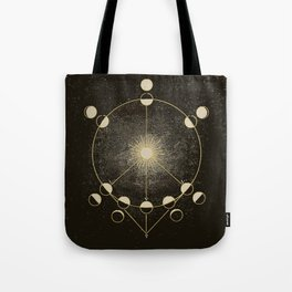 Vintage Astronomy Map Tote Bag
