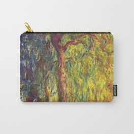 Claude Monet - Weeping Willow - Digital Remastered Edition Carry-All Pouch