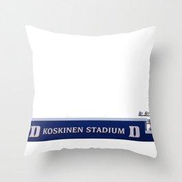 Koskinen Stadium Throw Pillow
