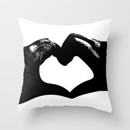 Hand of Heart #2 Throw Pillow