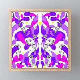 DOVE PINK Framed Mini Art Print