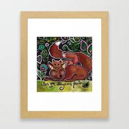 I Love You Always and Forever Framed Art Print